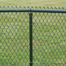 Galvanized/PVC Coated Chain Link Fence /Diamond Wire Mesh