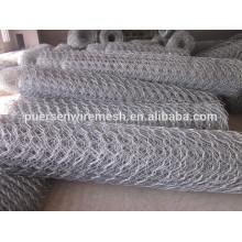 "Melhor qualidade 1/4 "", 3/4"" Cheap Chicken Wire / Rabbit Wire Mesh / Galvanizado Hexagonal Wire Mesh"
