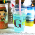 Wholesale Pet Disposable Plastic Cup with Dome Cover