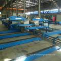 Steel roll forming roofing machine