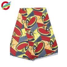 Tela africana pura del hogar del vestido de la cera africana del poliéster para la venta