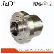 Válvula de verificação sanitária da união de aço inoxidável