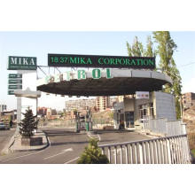 Sweeden P16mm Outdoor Monochrome Green High Way LED Sign
