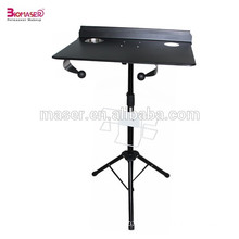 Professional Black Tattoo Stand Table Porta Station Portable Travel Desk Tray
