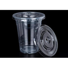 Venta caliente High Clear PP Cups para jugo