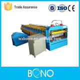 Used color steel metal corrugated roof machine