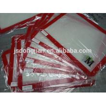 Estera antiadherente de la hornada del silicón, FDA, LFGB, resistente al calor