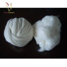 Fibre de laine de fibre de cachemire peignée de qualité pour tourner