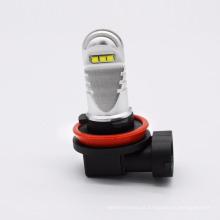 Faróis de nevoeiro universal para todos os carros & auto de alta potência H8 H9 H10 H11 H16 lâmpada de nevoeiro levou