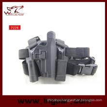 P226 Blackhawk Military Drop Leg Gun Holster Tactical Pistol Holster for for Right Hand (Long Style)