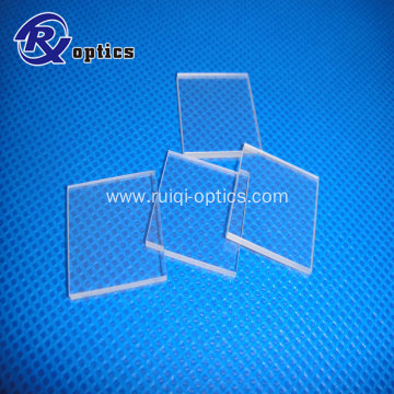 Polished Magnesium Fluoride (MgF2) optical window