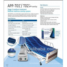 nylon/PU strip ripple air mattress system for alternating pressure APP-T02