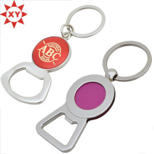 Custom Logo Zinc Alloy Metal Bottle Opener Keychain