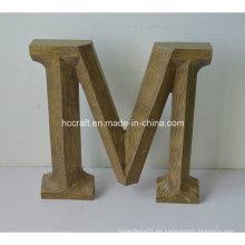 Hölzerne Buchstaben für Handwerk aus MDF