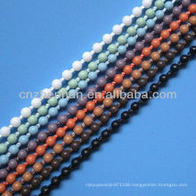 roller blinds 4.5*6mm plastic beaded ball curtain chain, curtain accessory, roller blind parts