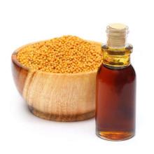 Óleo de mostarda orgânico natural para aditivos alimentares