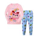 New Fashion Children Pijamas Casa Desgaste Sleepwear Animal Pijamas
