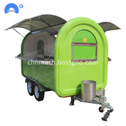 Food Processing Machinery Mobile Carts Factory Price