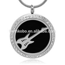 charme pendentif turc bijoux diffuseur d'huile essentielle collier en acier inoxydable