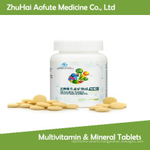 2015 Hot Sale Multivitamin & Mineral Tablets