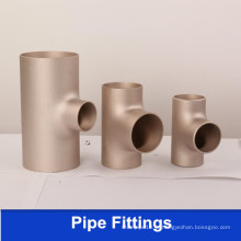CuNi 90/10 Cobre Nickel Pipe Fittings CuNi10fe1.6mn