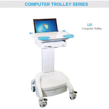 Hospital Monitor Computer ABS Trolley