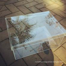 Custom Size Crystal Clear Acrylic Shoe Box