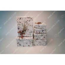 Thai Paper Handmade Flower Gift Box
