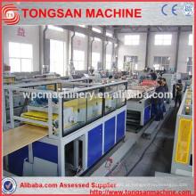 Máquina de fabricação de portas pvc composta de plástico de madeira