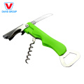 Customize Logo Stainless Steel Corkscrew Wine Opener