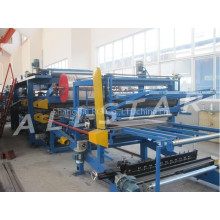 Hidráulico automático cubierta sandwich panel eps maquinaria