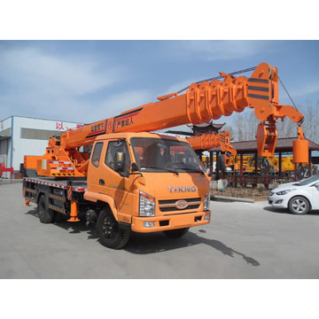 Low price lattice boom truck crane للبيع