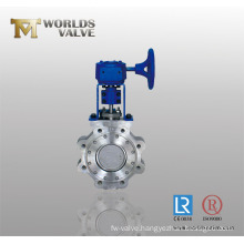 Metal Seat Lug Type Butterfly Valve