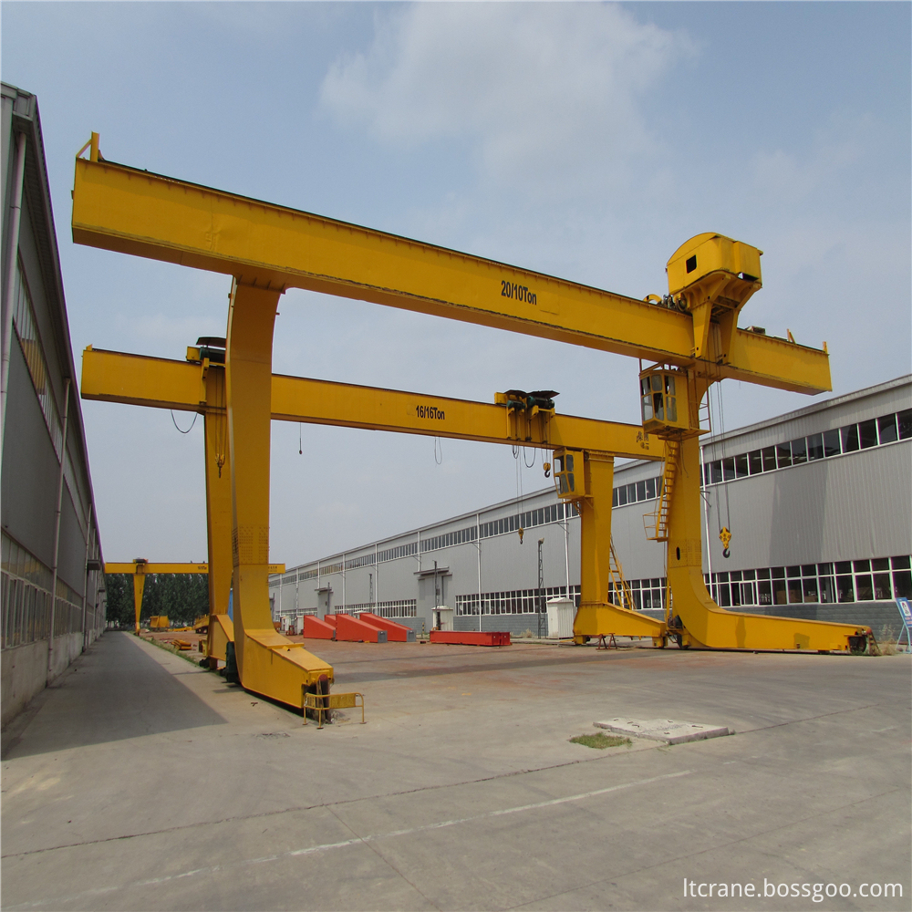 L Electric Trolley Gantry Crane