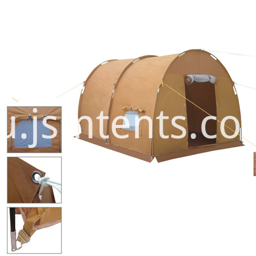 Strong windproof disaster relief tents
