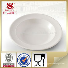 Chaozhou fine dinnerware pasta soup plate dipping dishes for spaghetti