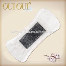 Einzigartige ultraweiche, weiche Baumwoll-Slipeinlage mit Ionen-Chip / schwarzer Slipeinlage