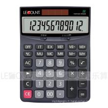 Calculatrice de bureau Dual Power de 12 chiffres avec grand écran LCD (CA1172)