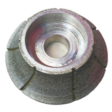Electroplated Half Bullnose Diamond Profiling Wheel For Various Hard Non-ferrous Material