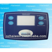home Appliance press membrane keypad with lcd windows