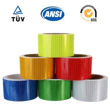 Reflektierendes Kunststoffmaterial, selbstklebendes Reflexband