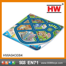 Funny Education City Games Kids Play Mat