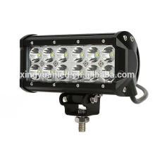 7 '' 36W Dual Row LED barra de luz LED SPOT / INUNDAÇÃO Luz de trabalho BAR 4WD BOAT UTE CAMPING