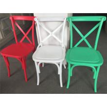 2015 Nova Design de Resina De Plástico Cadeira Crossback