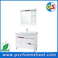 Fabricante blanco puro del precio del tablero de la espuma del PVC 4 * 8 en China