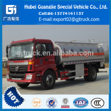 China Direct Factory fuel tank truck FOTON Auman 9Ton oil tanker price