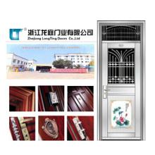 Security Exterior 201 Blatt Edelstahltür (LTSS-9018)