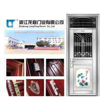 Security Exterior 201 Sheet Stainless Steel Door (LTSS-9018)