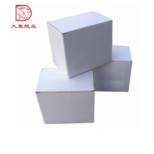 New design recyclable best price square white double wall corrugated box