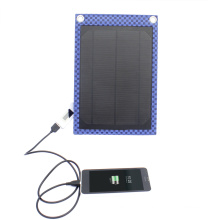5W Waterproof Portable Solar Charger Pack for Mobile Phone